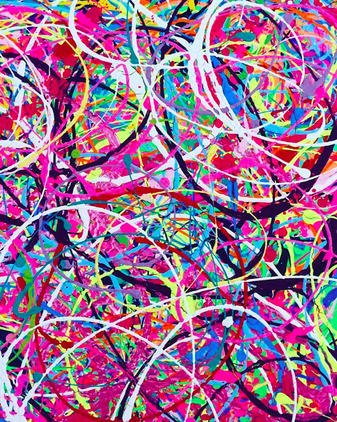 Abstract painting 6
